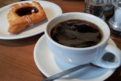 coffee and danish